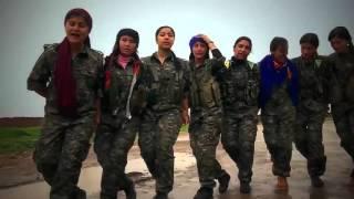 اجمل اغنية كردية 2016 از كجا كوردم YPJ YPG