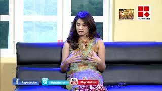 ACTRESS DEEPTHI SATHI IN MORNING REPORTER