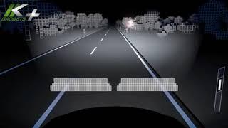 انظمة الاضائة الامامية  LED الجديدة  من مرسيدس بنز   حسن كتبي