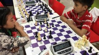 Final Moments 14 Year Old and Under Kiddies Rapid Chess Tournament by Pinoy Youth Chess Club