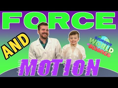 Xxx Mp4 FORCE And MOTION Cool Science Experiments For KIDS Gideon39s World Of Science 3gp Sex