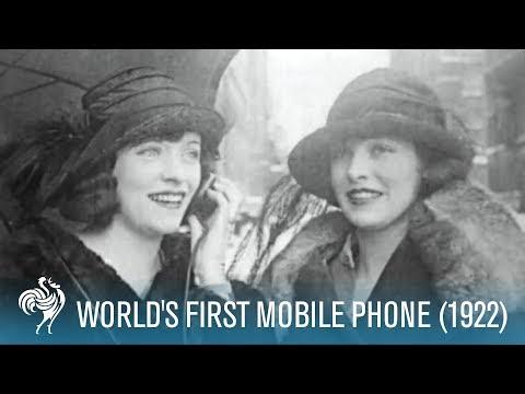 Xxx Mp4 World S First Mobile Phone 1922 British Pathé 3gp Sex