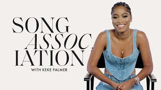 Keke Palmer Sings Beyoncé, Brandy, and Mary J. Blige in a Game of Song Association | ELLE
