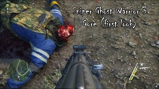 Sniper Ghost Warrior 3 - Gore (first look)