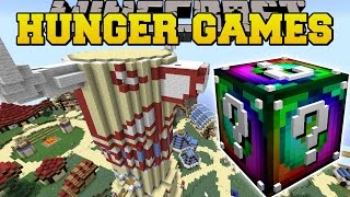 Minecraft: WORLD OF WARCRAFT HUNGER GAMES - Lucky Block Mod - Modded Mini-Game