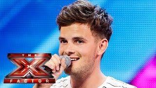 Tom Mann sings Backstreet Boys' I Want It That Way | Arena Auditions Wk 2| The X Factor UK 2014