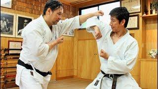 Tatsuya Naka (JKA) meets Hironori Otsuya (Wado-ryu), Karate Legends!