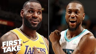 Stephen A. imagines Kemba Walker on Lakers with LeBron | First Take