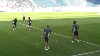 Tottenham Hotspur one touch drills