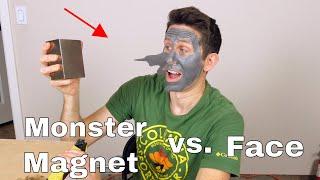 Giant Neodymium Magnet vs Magnetic Face Mask