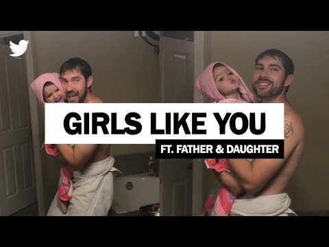 Xxx Mp4 Maroon 5 Girls Like You Father And Daughter Viral Video Full Video 3gp Sex