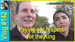 Vlog 142 - Paying our respect for the King