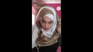 Criss cross Hijab Tutorial for Eid