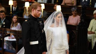 Meghan Markle Looks Radiant in Givenchy Wedding Gown