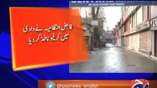 shutdown in Srinagar over killing of four Kashmir youths 29-March-2017