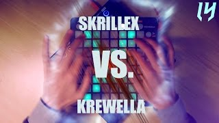 SKRILLEX - Bangarang (VS) KREWELLA - Come & Get It // (Launchpad PRO & Launchpad S cover)