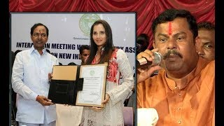 Remove Sania Mirza as Telangana