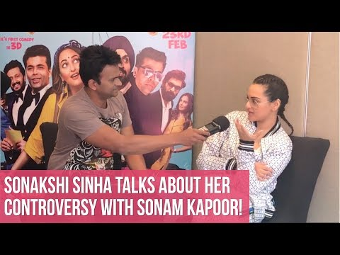 Sonakshi Sinha talks about her controversy with Sonam Kapoor! | Welcome to New York
