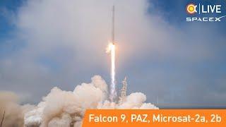 Трансляция пуска Falcon 9 (PAZ)