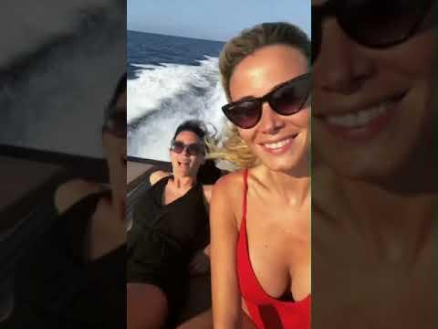 Xxx Mp4 Diletta Leotta Su Uno Yacht A Portovenere La Calda Estate Della Giornalista 3gp Sex
