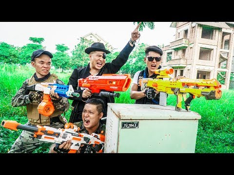 LTT Nerf War Captain SEAL X Warriors Nerf Guns Fight Dr Lee Group Ignorant Soldiers