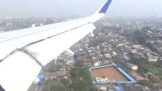 Landing at Mumbai airport Ghatkopar Side View