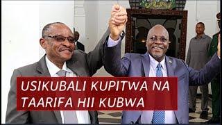 Habari kubwa nzito Iliyotufikia asubuhi hii, Usikubali kupitwa na Taarifa hii ni muhimu kuliko zote