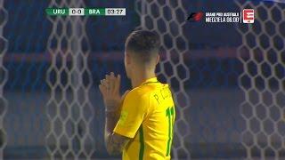 Philippe Coutinho vs Uruguay (Away) 1080i 2017 HD