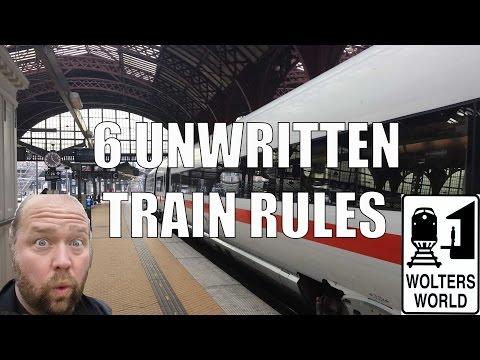 6 Unwritten Rules of European Train Travel