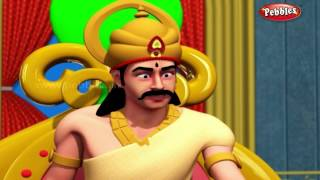 Ramans Punishment | मराठी गोष्टी | 3D Moral Stories of Tenali Raman in Marathi For Kids