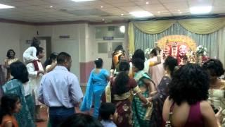 Durga Puja dancing Utsav 2011 Ilford, London
