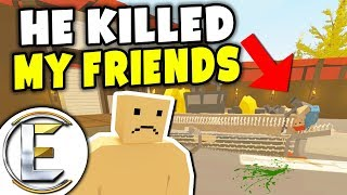 He Killed My Friends - Unturned Roleplay (Killer In A Death Machine Funny And Deadly)