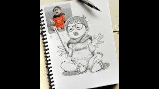 فنان اندونيسي يرسم الناس الحقيقيون كرسوم متحركة ستندهش من الدقة