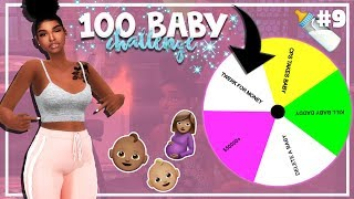 SIMS 4 100 BABY CHALLENGE with A TWIST #9 *TWERK BABY MAMA*