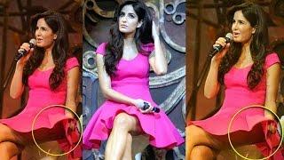 OMG! Katrina Kaif Reveals UNDERWEAR | wardrobe malfunction