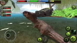 Ultimate Dinosaur Simulator: T-Rex Gameplay #11 | Eftsei Gaming