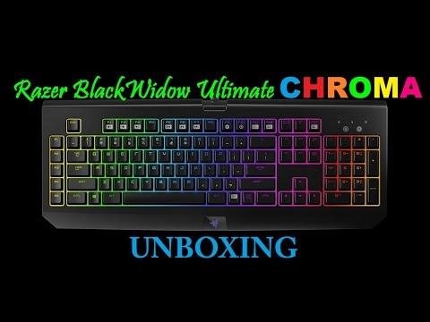 RAZER BLACKWIDOW CHROMA | Unboxing Noël [FR]