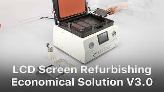 Economical Solution - Mobile Phone Broken LCD Refurbishing Solution V3.0