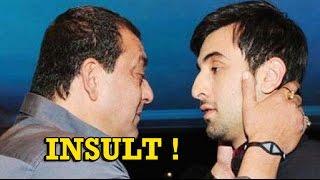 Sanjay Dutt shamed Ranbir kapoor in Party !