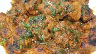 Chicken Kebab Curry / Sheek kebab curry