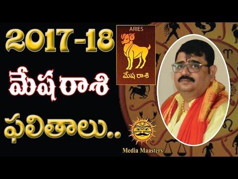 మేష రాశి 2017 Mesha Rasi - Aries Horoscope Telugu Rasi Phalalu 2017 To 2018 | Media Masters