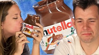 Americans Try Nutella For The First Time