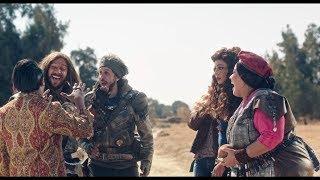 مسلسل خلصانة بشياكة - لحظة نقاش ساخن بين الرجالة والستات تنتهي بالحرب