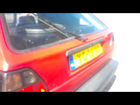1x Digital Designs Z18 + 1x SPL Dynamics ICE-3500D VW Golf 2 (Part 1)