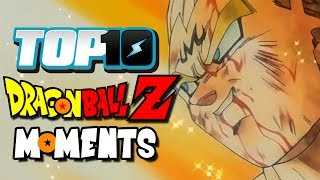 Top 10 Dragon Ball Z Moments!