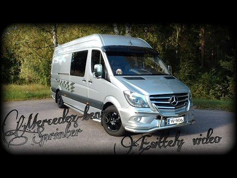 Vetojuhta Mercedez-benz Sprinter. esittely video.