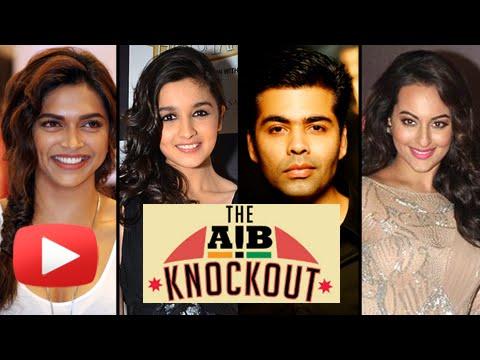 Deepika Padukone, Karan Johar, Alia Bhatt, Sonakshi Sinha React On AIB Knockout Roast