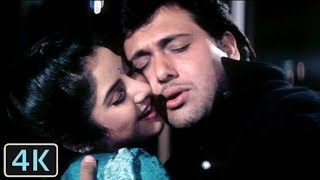 Tere Mere Pyar Mein | Full 4K Video Song | Govinda | Divya Bharti - Shola Aur Shabnam