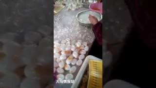 CHINESE MAKING FAKE EGGS