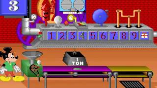 learn numbers with mickey mouse